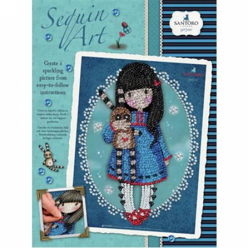 Sequin Art Limited. Sequin Art Gorjuss Hush Little Bunny 1615