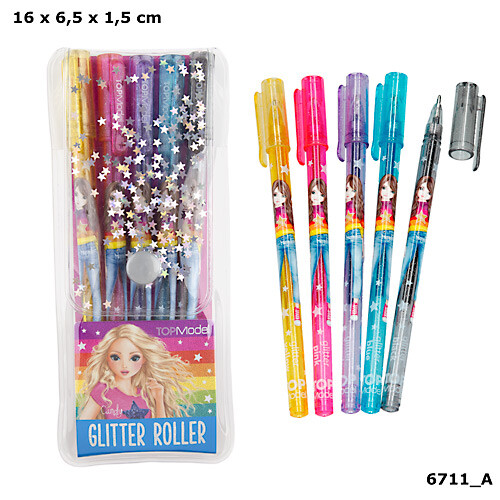 Depesche Top Model Glitter Gelpen Set