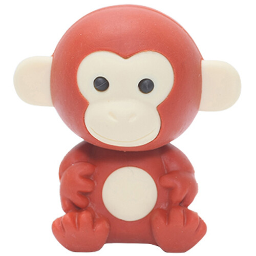 Iwako Puzzle Eraser - Forest Animals - Monkey (Brown)