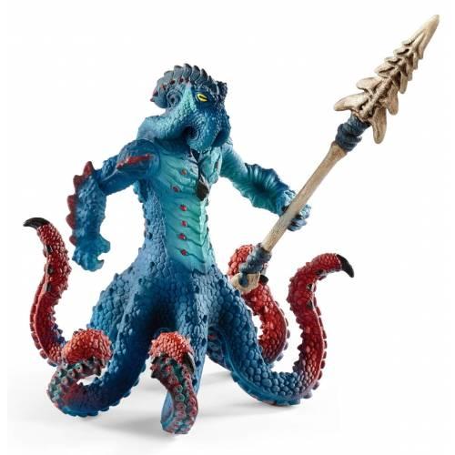 Schleich 42449 Monster Kraken with Weapon