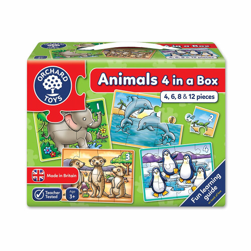 Orchard Animals Four in a Box