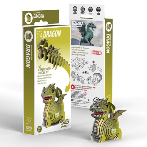 Eugy - 3D Model Craft Kit - Dragon