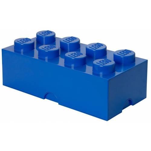 Lego 4004 Blue 8 Stud Storage Brick