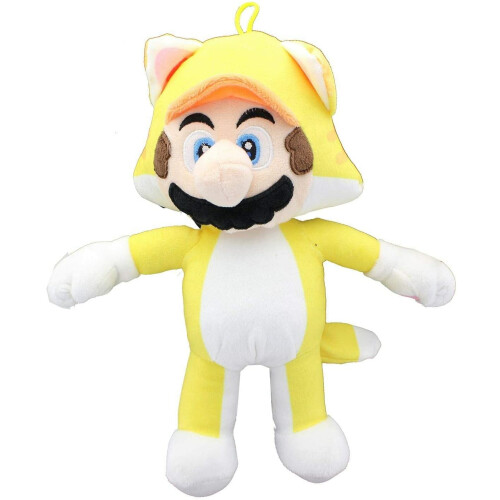 Super Mario 12 Inch Plush - Cat Mario