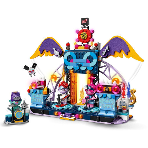 Lego 41254 Trolls World Tour Volcano Rock City Concert