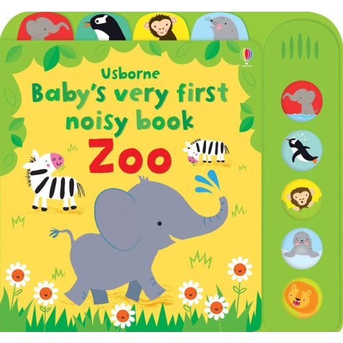 Usborne Books - Baby's Very First Noisy Book Zoo