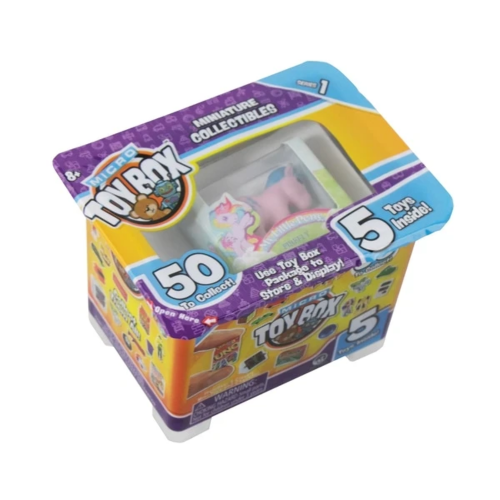 Micro Toy Box Miniature Collectibles 5 Pack Series 1