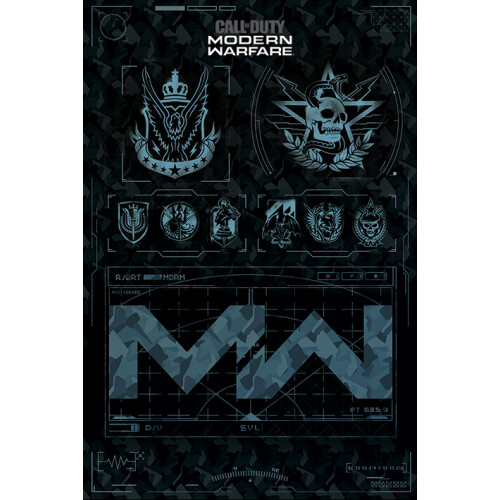 Maxi Posters - Call of Duty: Modern Warfare (Factions)