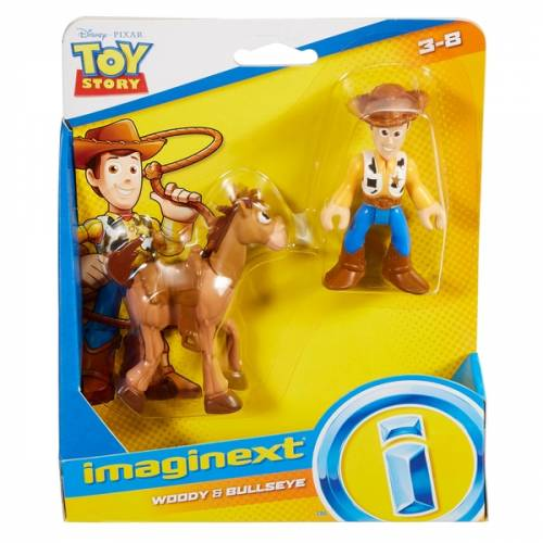 Imaginext Toy Story - Woody & Bullseye