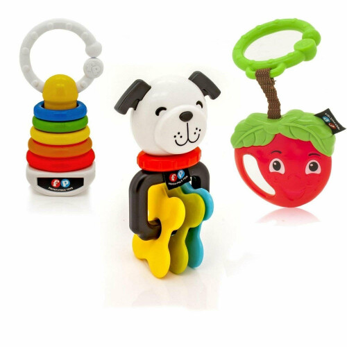 Fisher Price Clacker Teether Trio