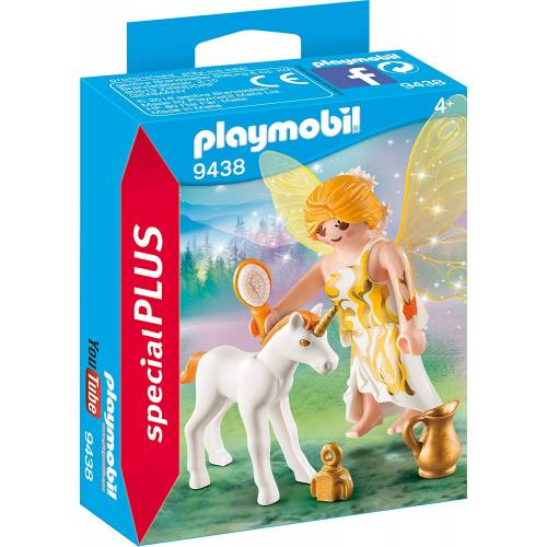 Playmobil 9438 Sun Fairy with Unicorn Foal
