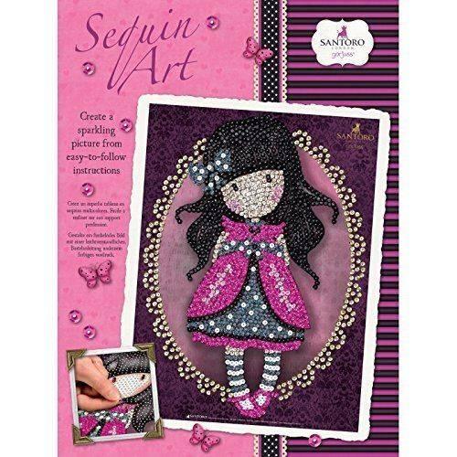 Sequin Art Limited.Sequin Art Gorjuss Ladybird 1614