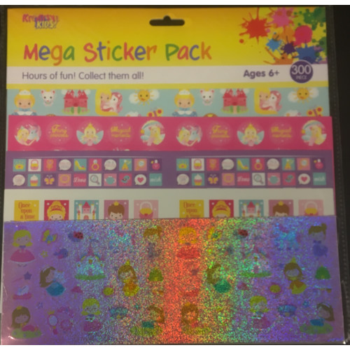 Mega Sticker Pack - Princess