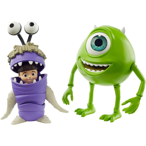 Monsters Inc. Action Figure - Mike Wazowski & Boo