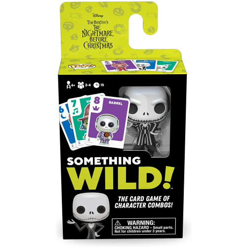 Nightmare Before Christmas - Something Wild! Card Game