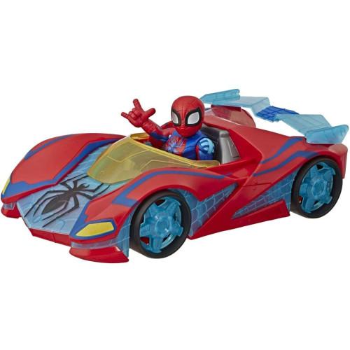 Marvel Super Hero Adventures - Spider-man Web Racer