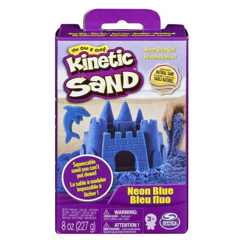 Kinetic Sand Blue 8oz Box