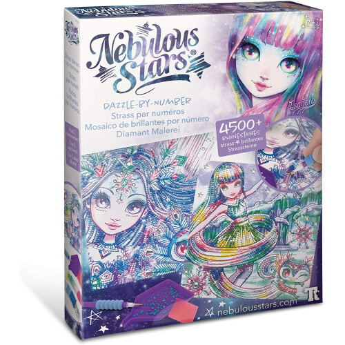 Nebulous Stars - Dazzle By Number Isadora
