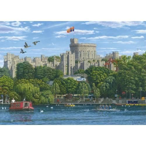 Falcon de luxe Windsor Castle 1000pc Jigsaw Puzzle