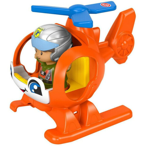 Fisher Price Little People Vehicle and Figure - Helicopter
