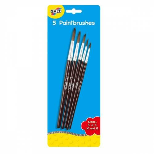 Galt 5 Paintbrushes