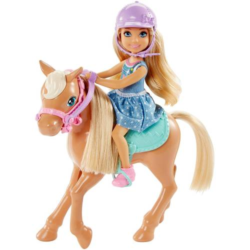Barbie Club Chelsea - Doll and Pony