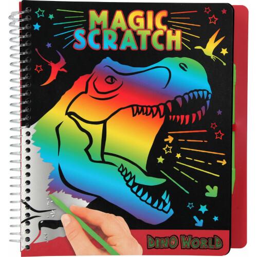 Dino World Magic Scratch