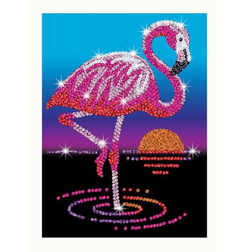 Sequin Art Limited. Sequin Art Red Frankie the Flamingo 1804