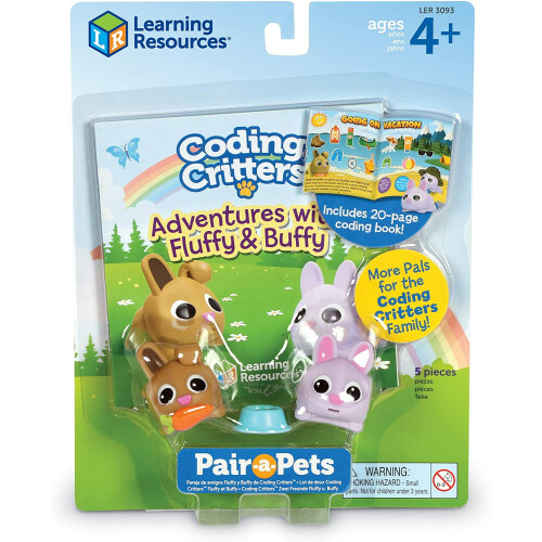 Coding Critters Pair-a-Pets Fluffy & Buffy