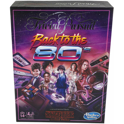 Trivial Pursuit Stranger Things Back to the 80's