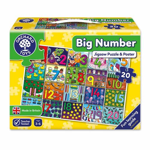 Orchard Big Number Jigsaw