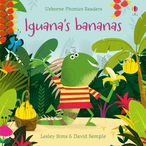 Usborne Books - Iguana's Bananas