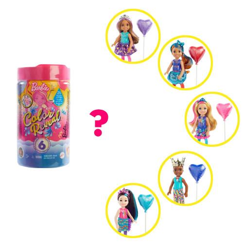 Barbie Colour Reveal Chelsea Doll Party Series