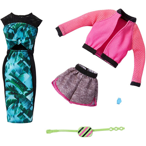 Barbie Fashions Outfit 2-Pack (GHX63)