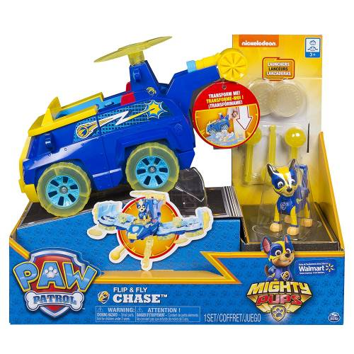 Paw Patrol Mighty Pups Flip & Fly Chase