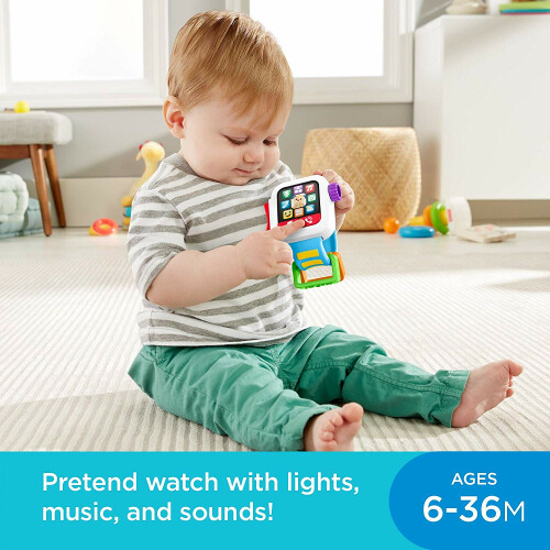 Fisher Price Time to Learn Smartwatch
