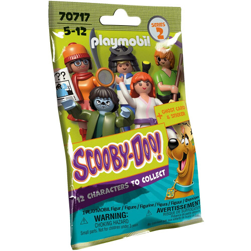 Playmobil 70717 Scooby-Doo Mystery Figure Pack Series 2