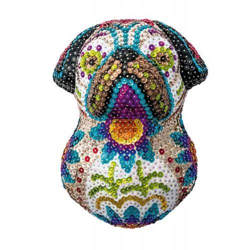 Sequin Art 3D 1707 Pug Art Kit