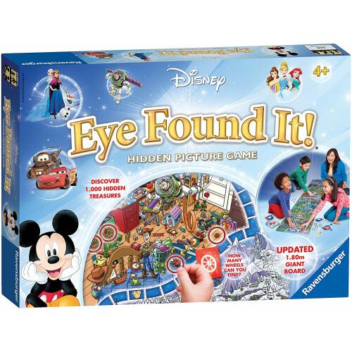 Disney Eye Found It! Hidden Picture Game