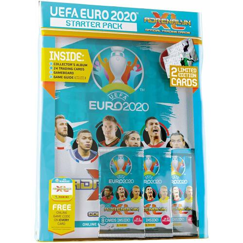 Euro 2020 Adrenalyn XL Cards - Starter Pack
