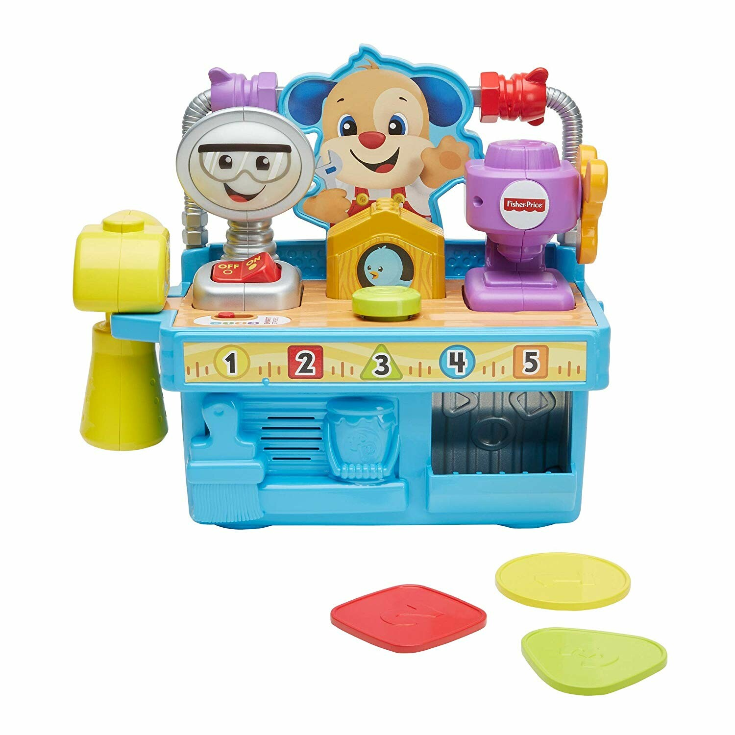 Fisher Price Busy Learning Tool Bench Toys N Tuck