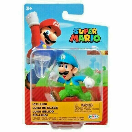 Super Mario 2.5 Inch Figures - Ice Luigi