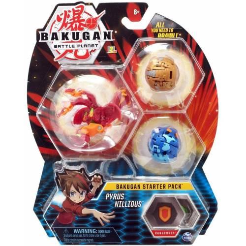 Bakugan Starter Pack - Pyrus Nillious