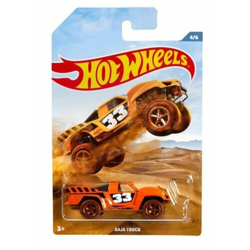 Hot Wheels Off Road Trucks - Baja Truck