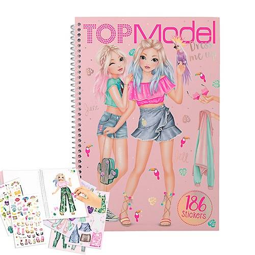 Depesche Top Model Dress Me Up Sticker Book