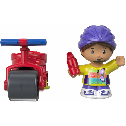 Fisher Price Little People - Cyclist Samuel & Bike