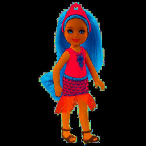 Barbie Dreamtopia Chelsea Fantasy Doll Blue Hair