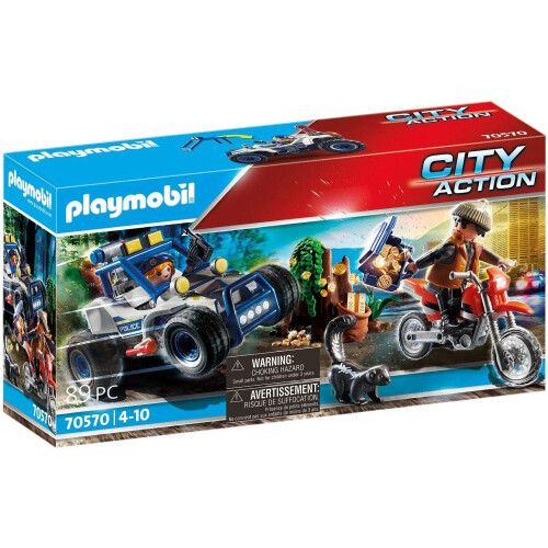 Playmobil  70570 City Action Police Off-Road Car with Jewel Thief