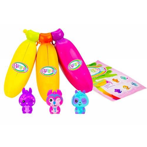 Bananas 3 Pack - Yellow, Orange, Pink