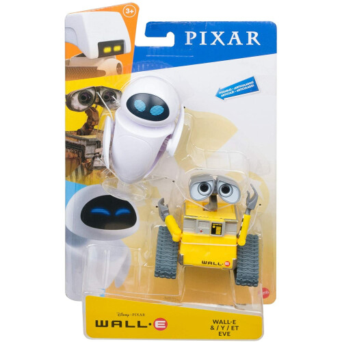 Wall-E Action Figure - Wall-E  & Eve